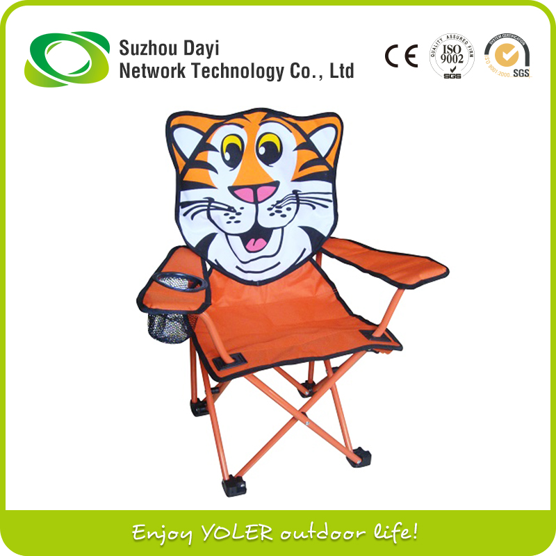 Awesome Outdoor Use Animal Print Folding Camping Chair For Kid Beatyapartments Chair Design Images Beatyapartmentscom